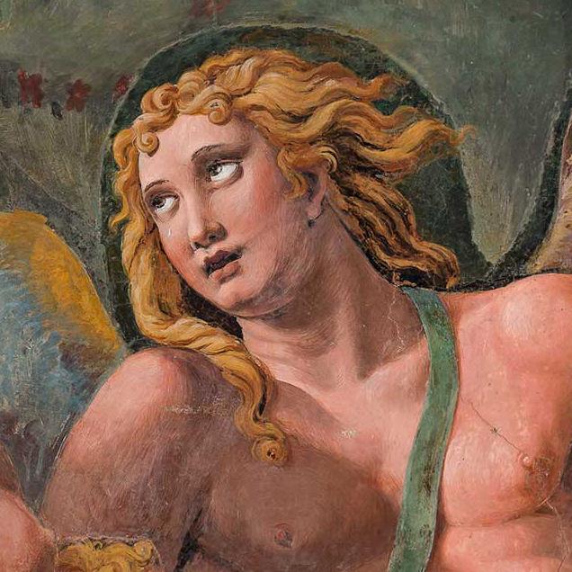 """<span>Gigapixel ART</span> <br> """"Il banchetto nuziale di Amore e Psiche"""", affresco di Palazzo Te a Mantova"""