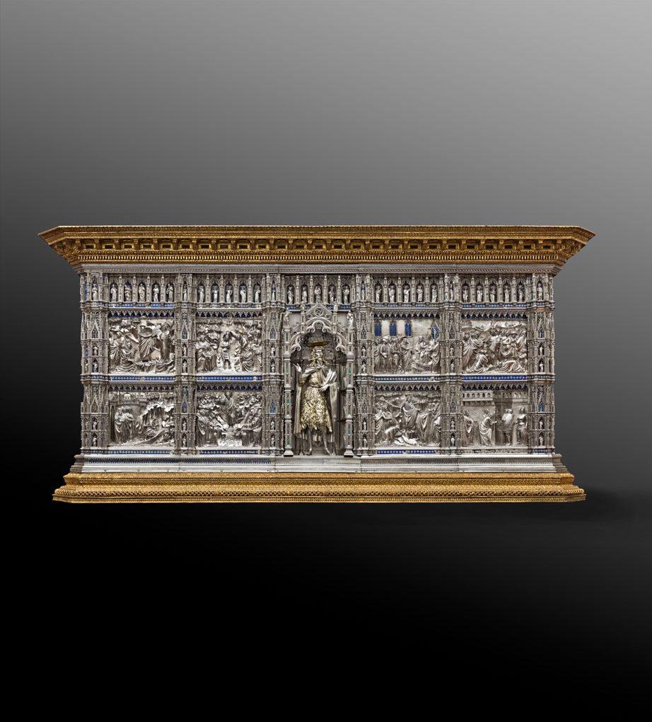 <span>gigapixel ART</span> <br>Firenze: il dossale d'argento di San Giovanni - fronte