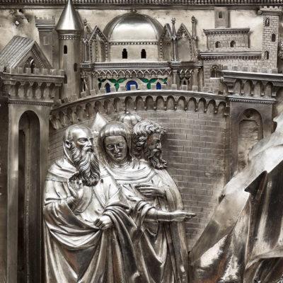 <span>Gigapixel art</span> <br> Altare d'Argento di San Giovanni