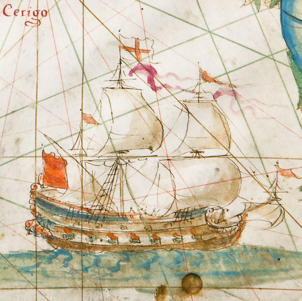 <span>Gigapixel art</span> <br> Carte Nautiche