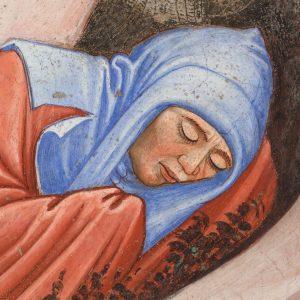 Cappella Contrari, Parete Nord: Resurrezione di Cristo e discesa al Limbo.