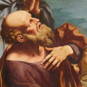 """Cappella dei convittori: Antonio Consetti, """"Presentazione della Vergine al tempio"""""""