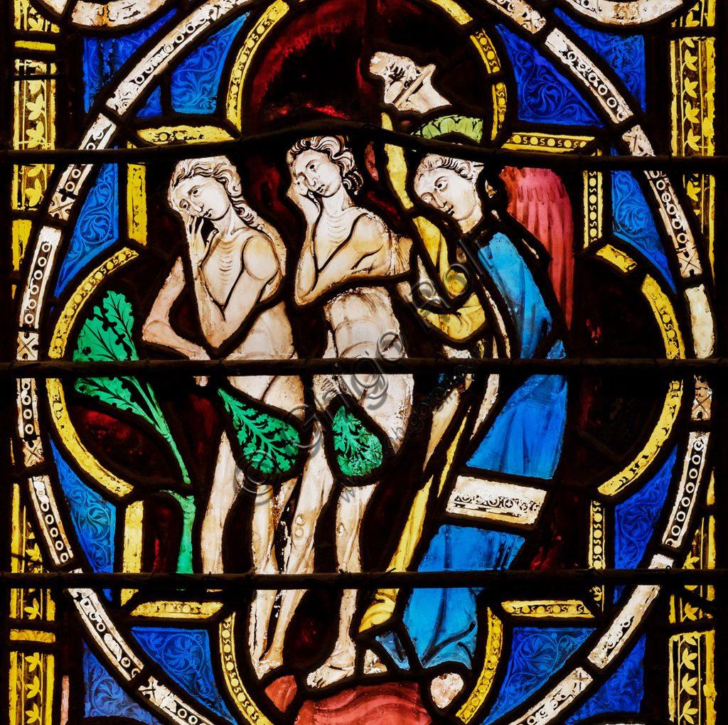 <span>Gigapixel ART</span> <br> Assisi, Basilica superiore di S. Francesco, transetto meridionale: vetrate della quadrifora