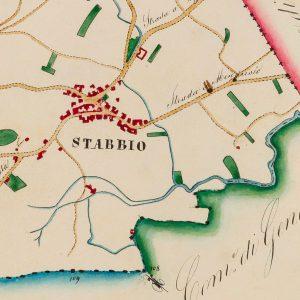 Mendrisio, Archivio Storico Comunale: Cabreo Dalberti, Tavola 02, Carta Corografica.