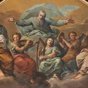 """Chiesa di San Carlo: Francesco Vellani, """"Sposalizio della Vergine"""""""