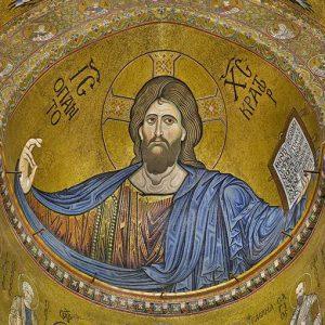 Monreale gigapixel del Cristo Pantocrator