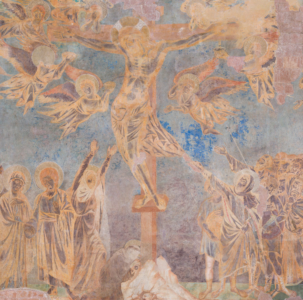 """<span>Gigapixel ART</span> <br> """"La Crocifissione"""" di Cimabue ad Assisi"""